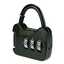 Mini Security 3 Combination Travel Suitcase Luggage Bag Code Lock Padlock #04