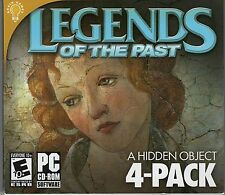 SECRET DIARIES Hidden Object LEGENDS OF THE PAST 4 PACK PC Game CD-ROM NEW