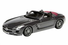 Mercedes-Benz SLS Roadster in Black in 1:43 Scale by Schuco 450887200