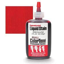 ColorTone Liquid Stain, Cherry red