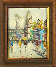 Antonio DeVity Framed Oil on Canvas Painting