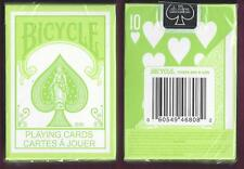 1 DECK Bicycle Fashion Green playing cards