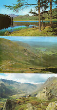 Cumbria ,Lake district x3 Wrynose pass ,Bowfell ,Blea Tarn unposted 1960's/70's