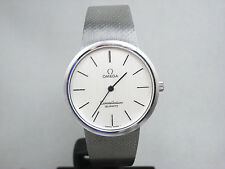 OMEGA Constellation Vintage Quartz St.Steel Men's Watch Mesh Band Cal.1330 Great