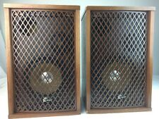 Sansui SP-35 2-Way Vintage Stereo Speaker System Pair Sound Great