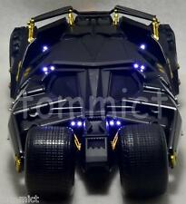 Batman The Dark Knight 1:18 Batmobile Tumbler with LED lighting Bane MIMB