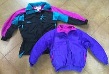 Vintage 1990's Neon Columbia GIZZMO 3 in 1 Insulated Winter Jacket Women's Small