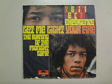 "JIMI HENDRIX EXP.:Let Me Light Your Fire-Burning Of Midnight Lamp-Germany 7"" PSL"