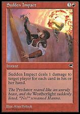 Sudden Impact   EX PLAYED     Tempest MTG Magic Cards Red