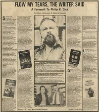 13/3/82Pgn13 ARTICLE & PICTURE : PHILIP K DICK