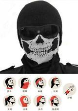 Cool Skull Bandana Bike Helmet Neck Face Mask Paintball Ski Sport Headband