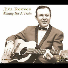 JIM REEVES - WAITING FOR A TRAIN 2 CD NEW+