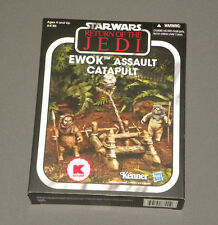 Star Wars Ewok Assault Catapult Exclusive Playset w 2 Figures Vintage Collection