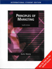 Principles of Marketing Not for Sale in the United States by Boone         , Lo