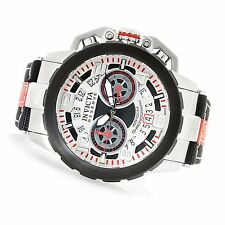 NEW Invicta 20489 Reserve Nitro Swiss Made Quartz Chronograph Strap Watch
