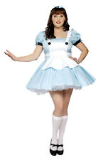 Alice in Wonderland Costume 2XL Plus Size 12/14 Roma Miss Alice Made in USA NEW