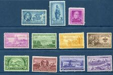 US 1950 Commemorative Year Set - Complete, MNH - 11 Stamps Scott 987-97 USA