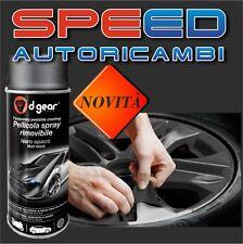 Pellicola spray rimovibile nero opaco d-gear cerchi - plastica