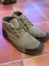 Timberland cuir et toile bottes Uk10 Uk10.5