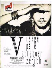 Publicité Advertising 1988 Concert Renaud au Zenith