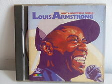 CD ALBUM LOUIS ARMSTRONG What a wonderful world ND 88310