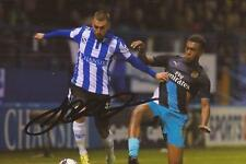 SHEFFIELD WEDNESDAY: JACK HUNT SIGNED 6x4 ACTION PHOTO+COA