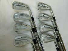New 2015 TaylorMade RSi TP Iron Set 3-PW Irons Stiff flex KBS Tour Preferred