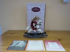 "Ashton Drake Galleries ""Rock-A-Bye and Good Night"" Tiny Doll Sleeping on Horse R"