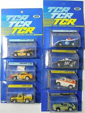 7pc 1978 Ideal TCR MK 1 Can Pro AM Indy Truck Stocker Slot Less Car Slotless MOC