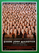 M22 MANIFESTO 2F ESSERE JOHN MALKOVICH BEING CUSACK KEENER SPIKE JONZE DIAZ