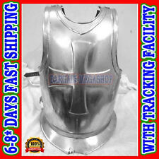 Knights Templar Crusaders Armor Pointmans Cuirass - Front & Back Armour Cross