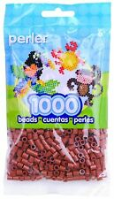 1000 Perler Rust  Color Iron On Fuse Beads