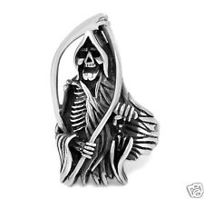 【Ship from USA】Sons of Anarchy Gothic Rocker Biker Stainless Steel Ring Size 10