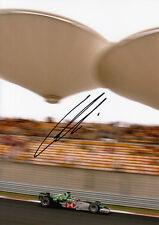 Christian Klien Hand Signed Jaguar Racing F1 7x5 Photo.