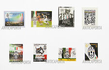Stamps Juventus from the 2012 to 2015 Italy and San Marino Collection complete