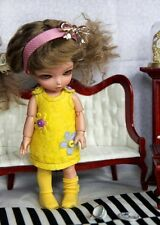 Yellow or Violet dress for 16 cm bjd doll Lati Yellow, Aquariusdoll, Pukifee