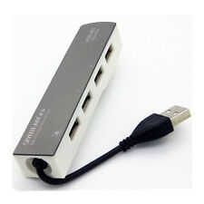 SIYOTEAM SY-H002 Hi-speed 4 Ports USB2.0 Hub With USB Power Adapter For MAC/PC