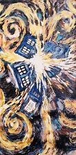 "Doctor Who Pandorica Opens Van Gogh BBC Licensed Beach Bath Towel 60"" x 30"""