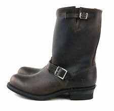 FRYE Women's Engineer 12R Boot Gaucho Brown Antique Leather Size 10 M