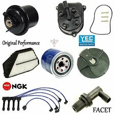 Tune Up Kit Filters PCV Cap Rotors Wires for Honda Accord DX; LX; SE; 2.2L 1997