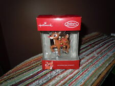 HALLMARK RUDOLPH THE RED NOSED REINDEER CHRISTMAS ORNAMENT 2016 NIB