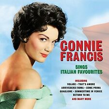 Sings Italian Favourites - Connie Francis (2016, CD NIEUW)2 DISC SET