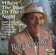 BING CROSBY : WHERE THE BLUE OF THE NIGHT / CD (KARUSSELL 844 036-2)