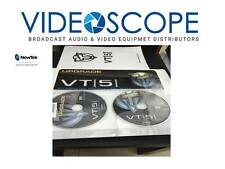 Newtek VT5 Upgrade 2 cd's and inch thick  manual