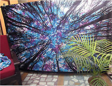 Twin Tree Tapestry Indian Wall Hanging Tie & Dye Tapestries Hippie Bedspread Art