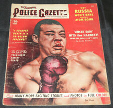 1951 May The National Police Gazette Vol 156 #5 Joe Louis Cover VG+