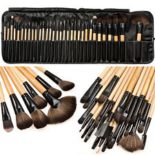 32pcs Pro Soft Cosmetic Eyeshadow Lip Powder Makeup Brush Tool Set Kit +Case Bag