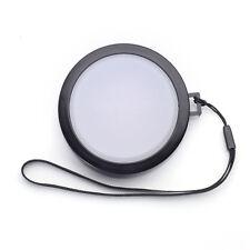 58mm White Balance Lens Cap with Filter Mount for DV DC DSLR SLR