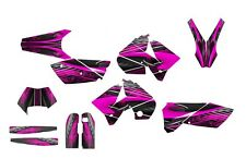 2005 2006 2007 KTM EXC 125 250 450 525 graphics deco kit NO3333 Hot Pink