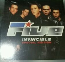 Five - Invincible (special edition) double CD